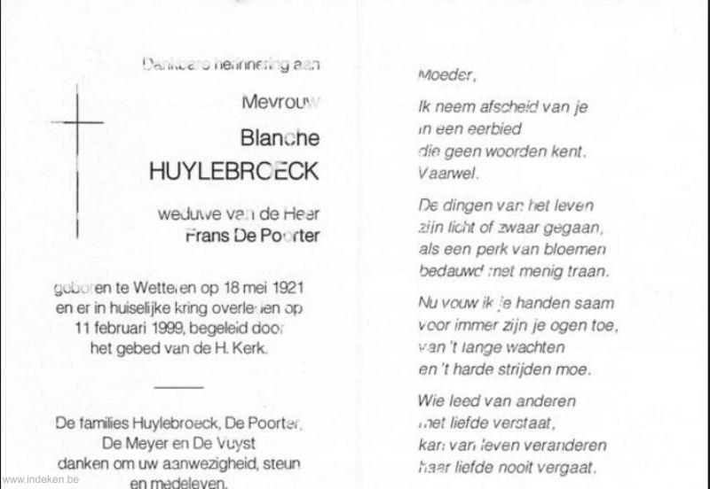 Blanche Huylebroeck