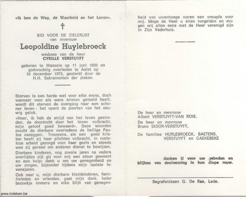 Leopoldine Huylebroeck