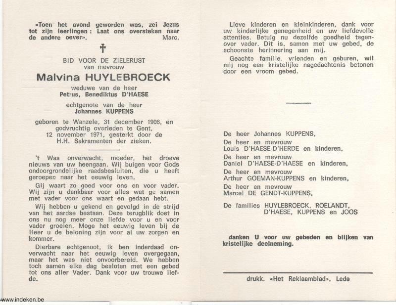 Malvina Huylebroeck