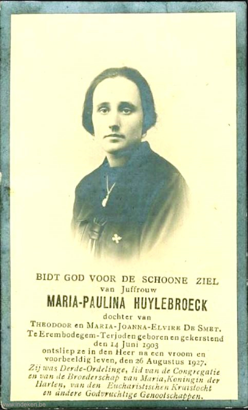 Maria Paulina Huylebroeck