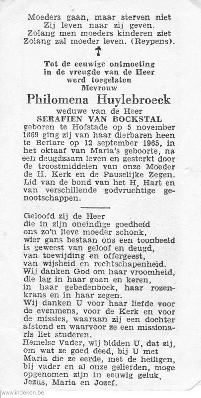 Philomena Huylebroeck