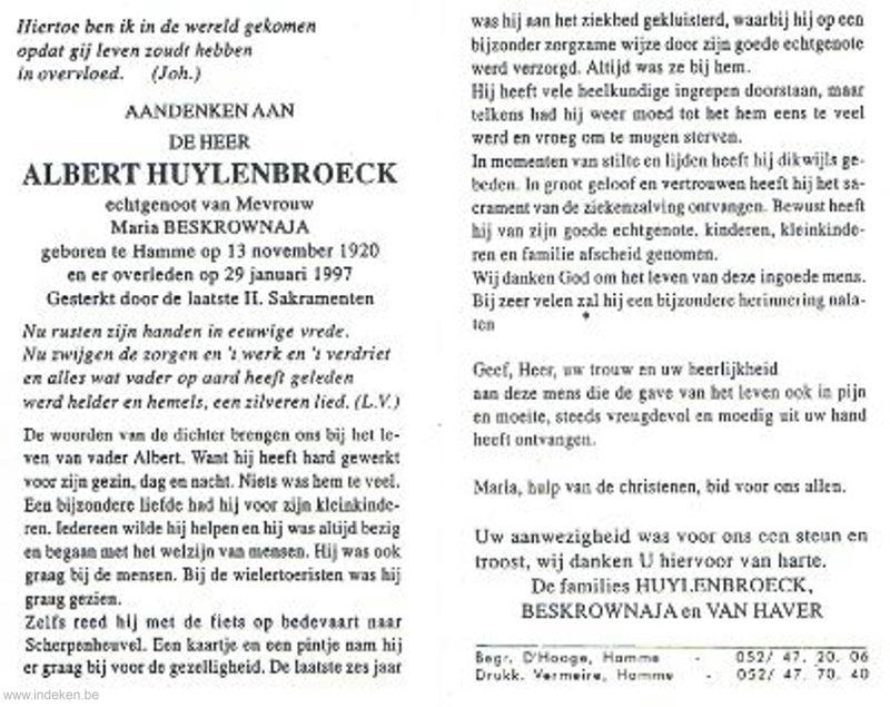 Albert Huylenbroeck