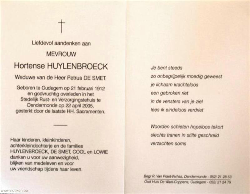 Hortense Huylenbroeck