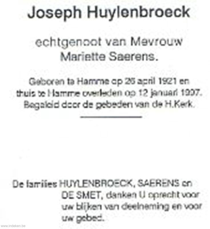 joseph Huylenbroeck