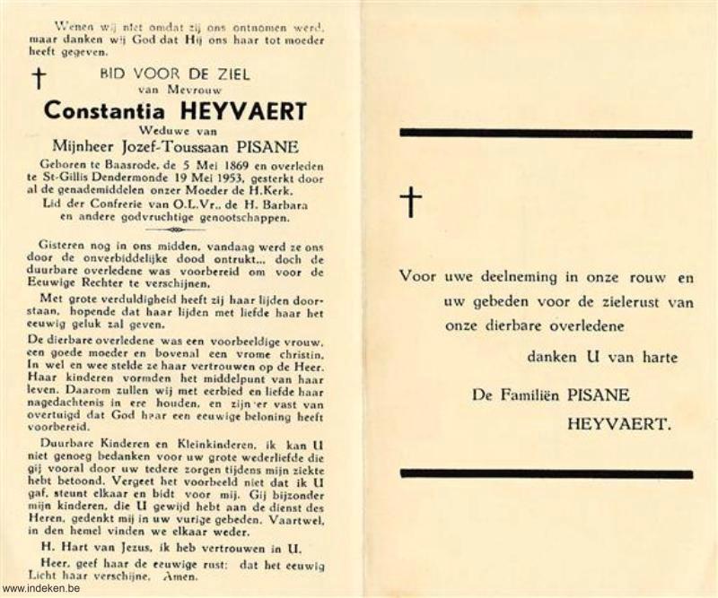Constantia Heyvaert