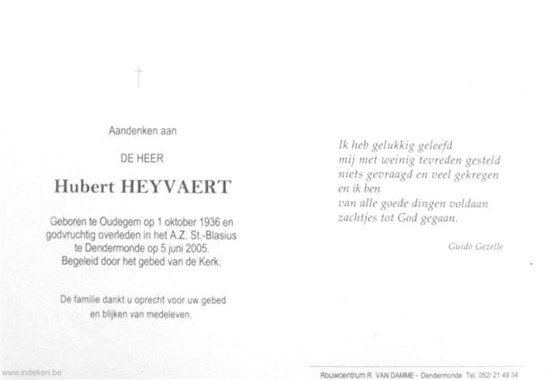 Hubert Heyvaert
