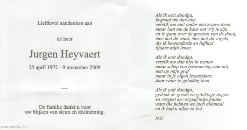 Jurgen Heyvaert