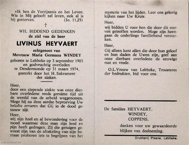 Livinus Heyvaert