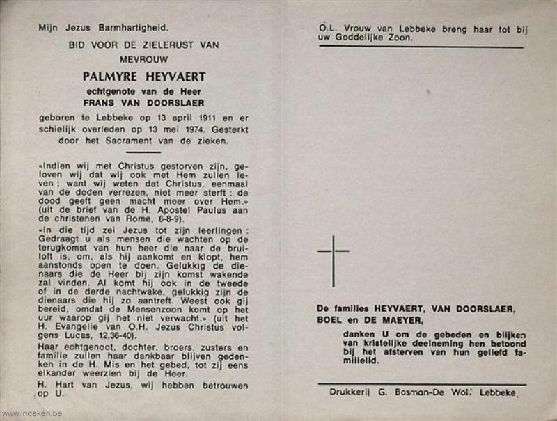 Palmyre Heyvaert