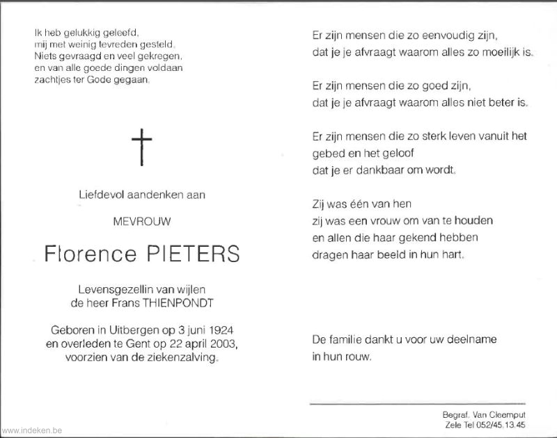 Florence Pieters