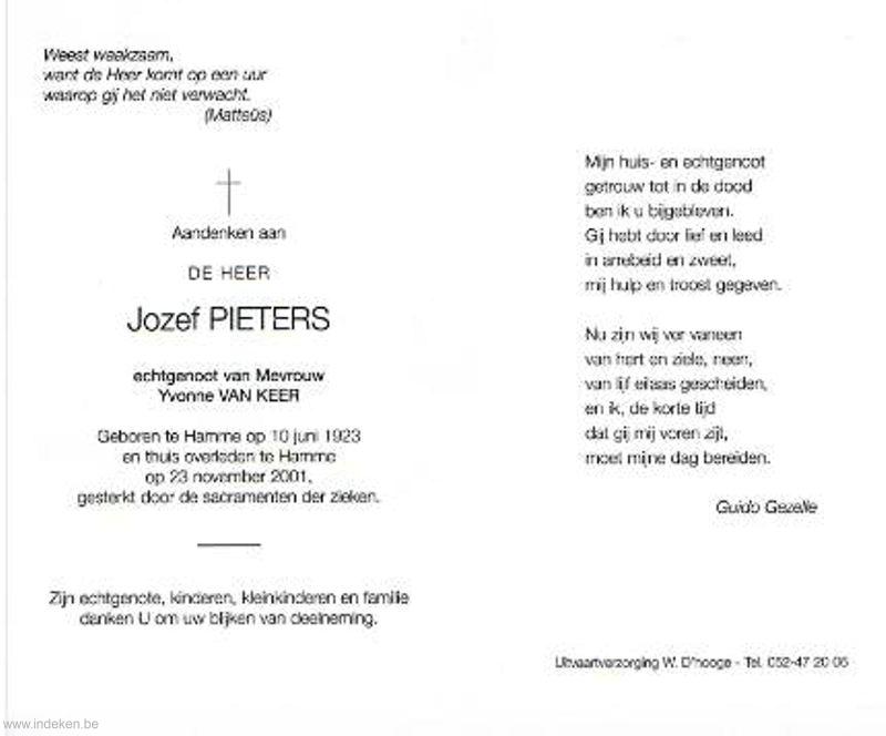 Jozef Odiel Pieters
