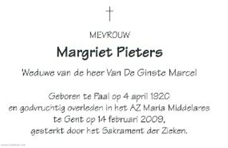 Maria Margriet Pieters