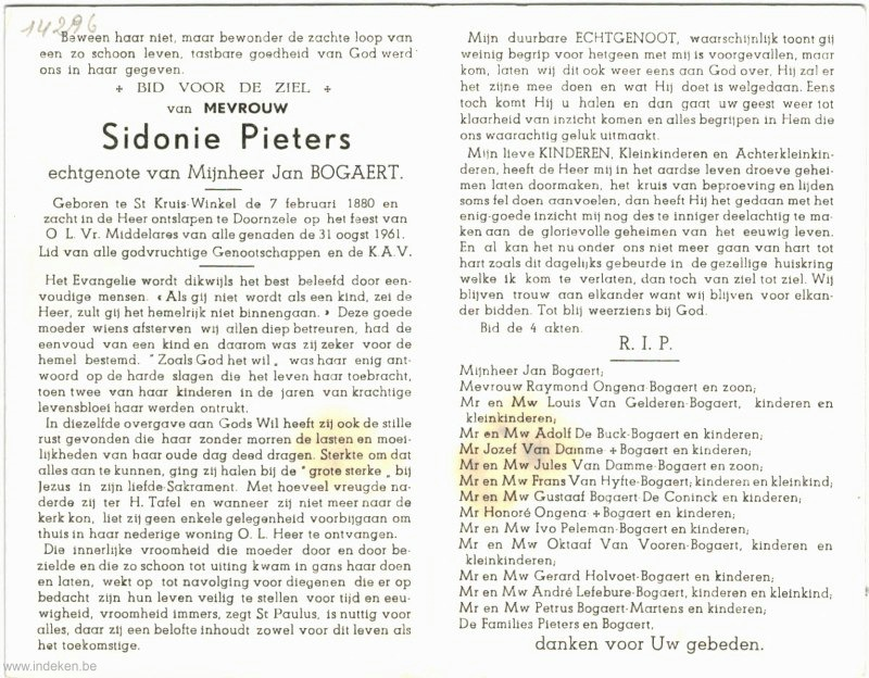 Sidonie Marie Pieters
