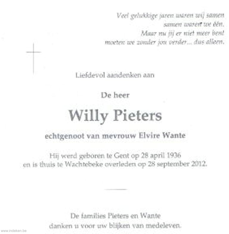 Willy Pieters