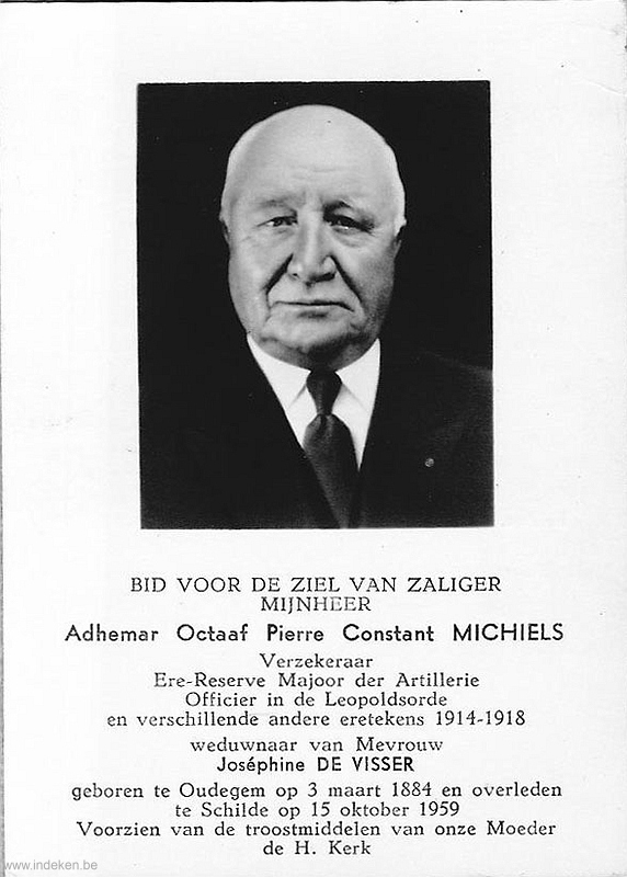 Adhemar Octaaf Pierre Constant Michels