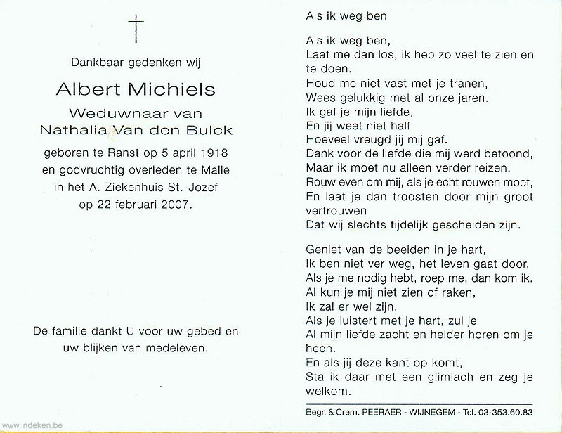 Albert Michiels