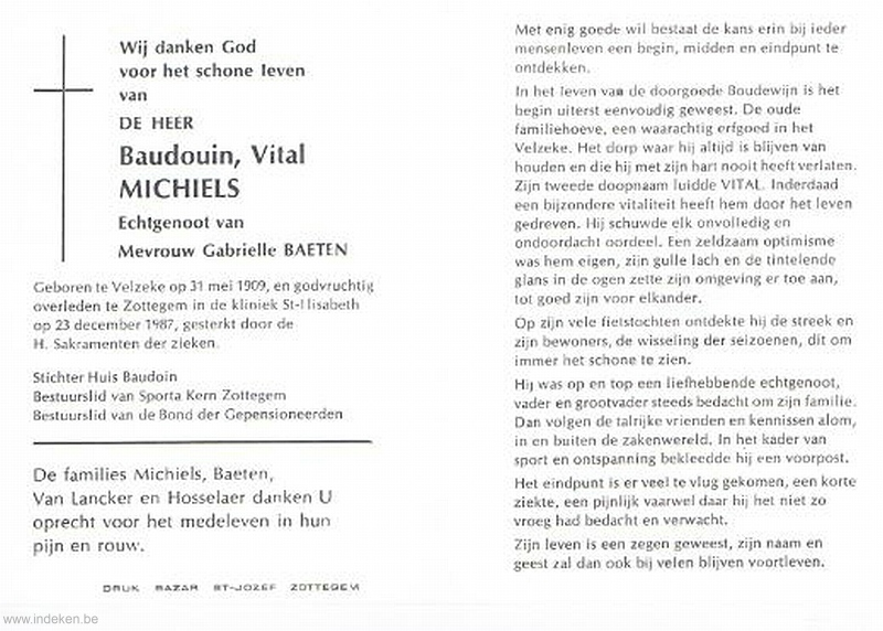 Baudouin Vital Michiels