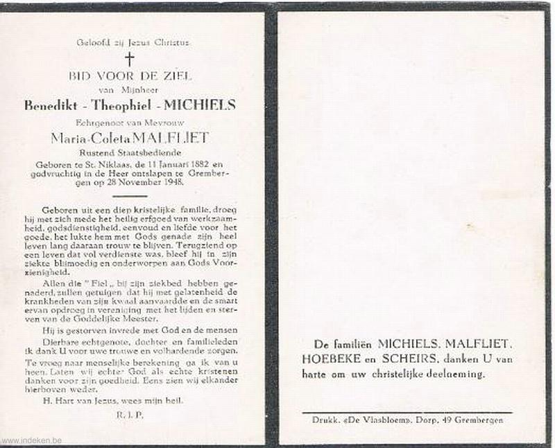 Benedictus Theophilus Michiels