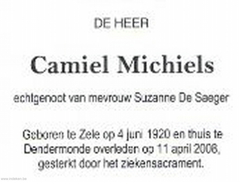 Camiel Michiels