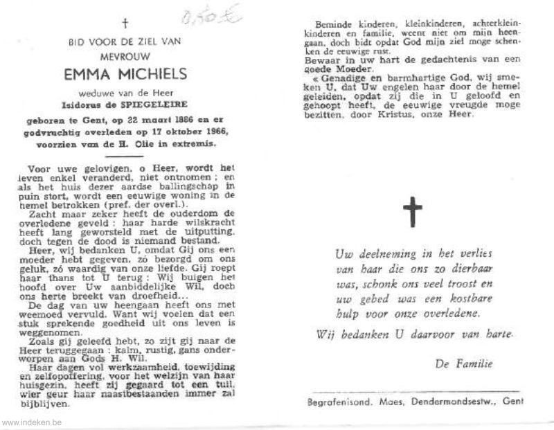 Emma Michiels