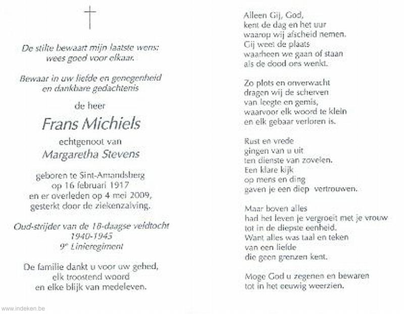 Frans Michiels
