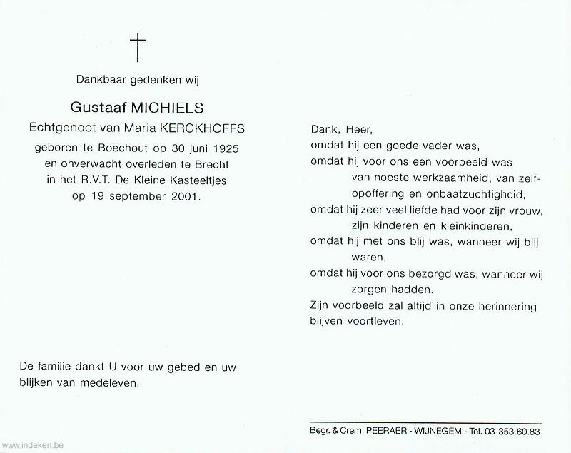 Gustaaf Michiels