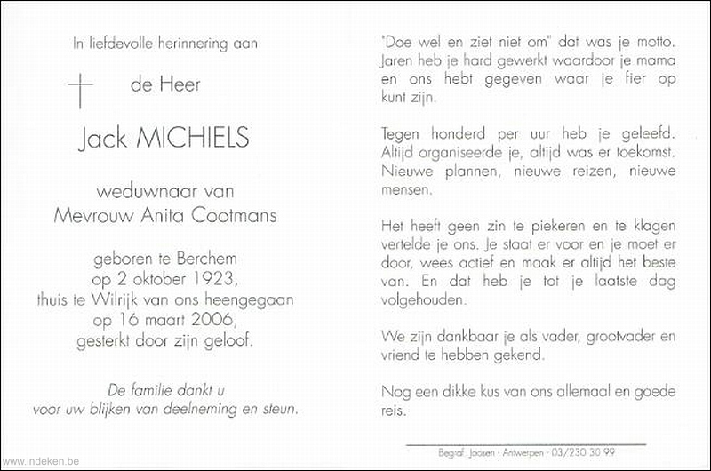 Willy -Jack Michiels