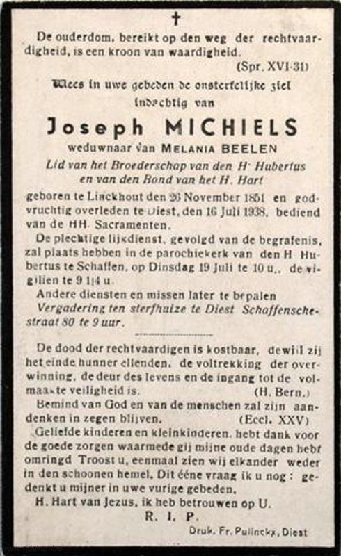 Joseph Michiels