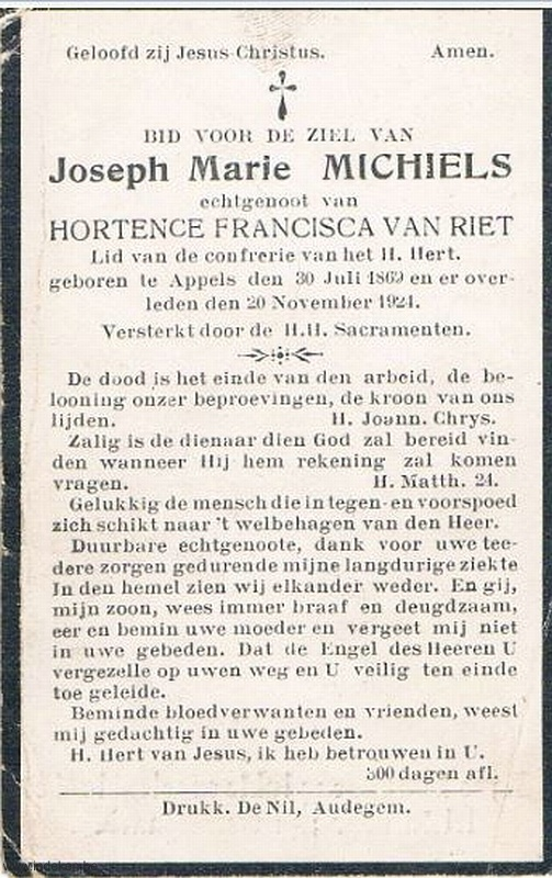 Joseph Marie Michiels