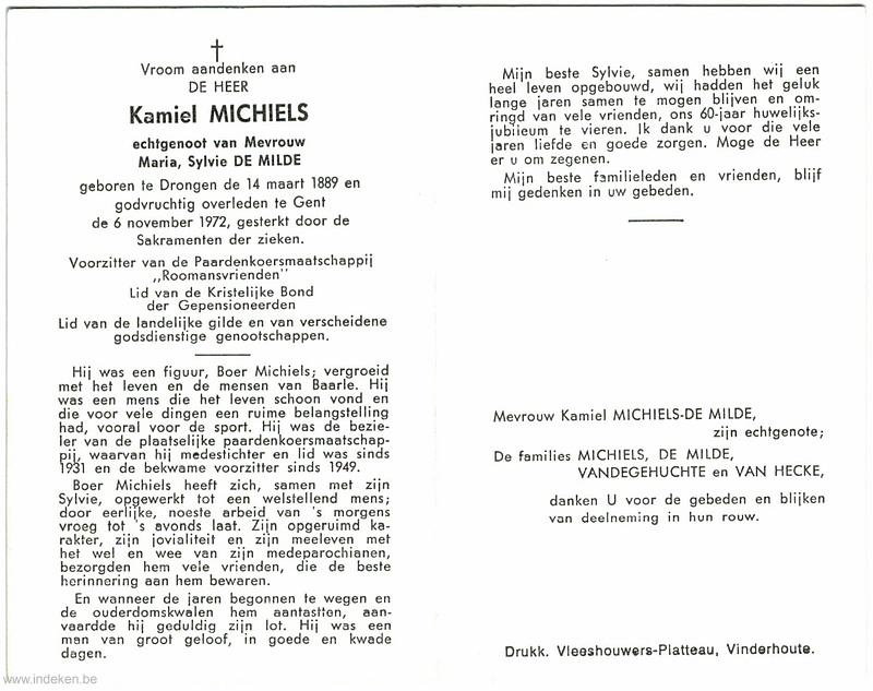 Kamiel Michiels
