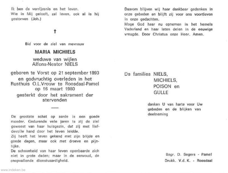 Maria Michiels