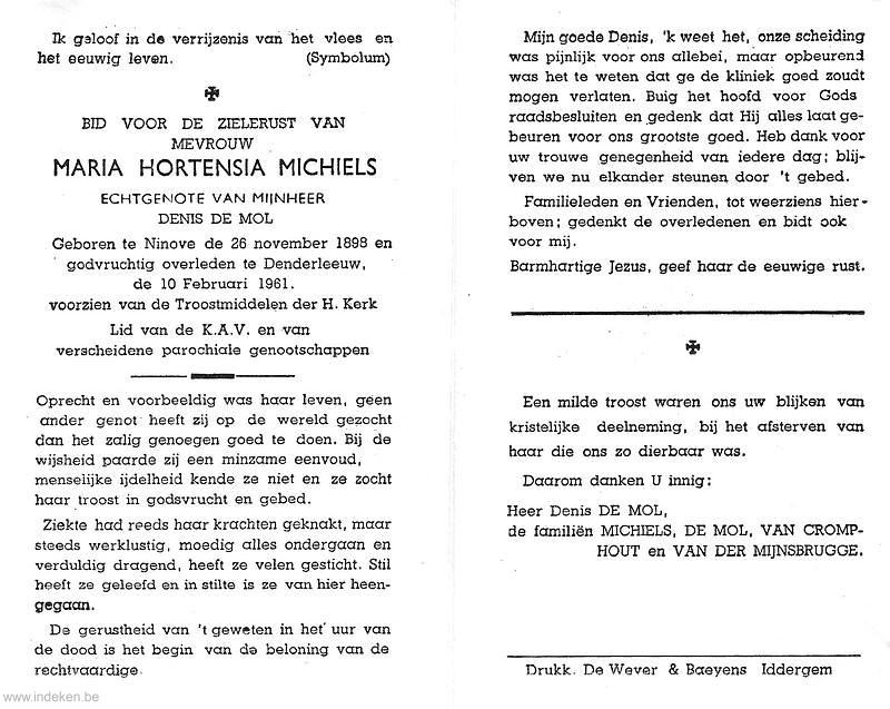 Maria Hortensia Michiels