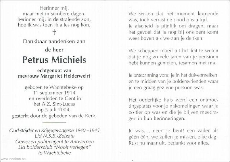 Petrus Michiels