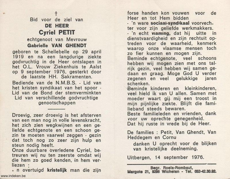 Cyriel Petit