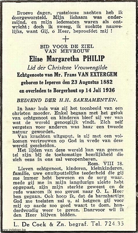 Elise Margaretha Philip