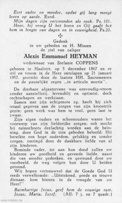 Alexius Emmanuel Heyman