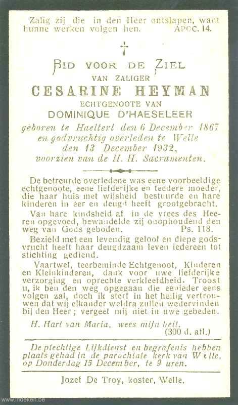 Virginia Cesarine Heyman