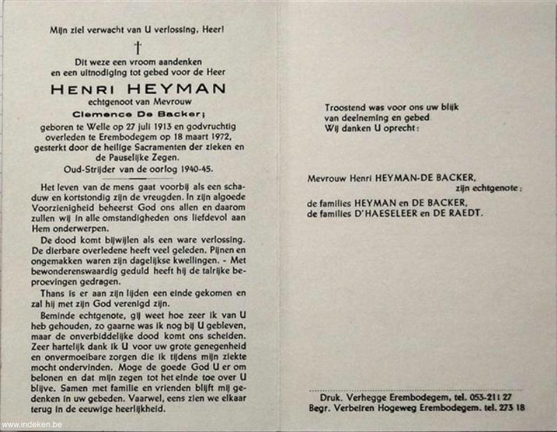 Henri Heyman