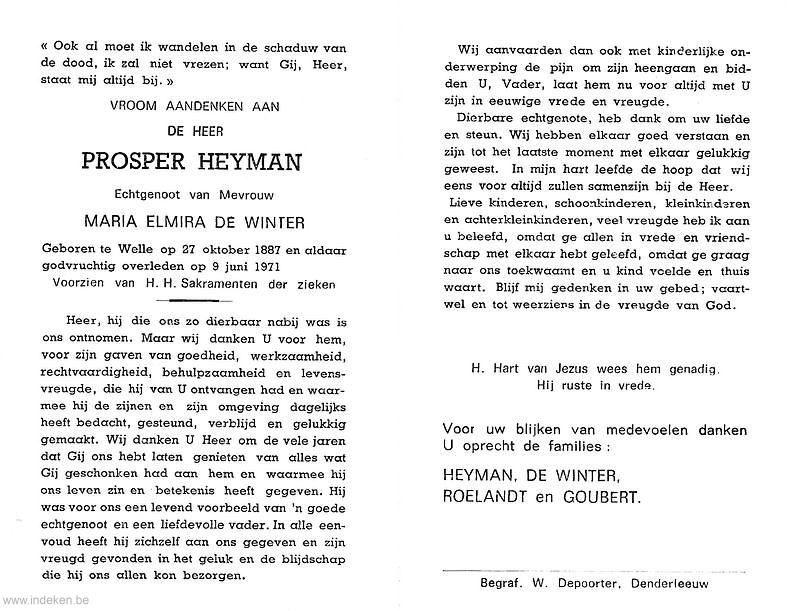 Prosper Heyman