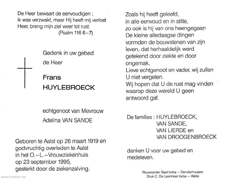 Frans Huylebroeck