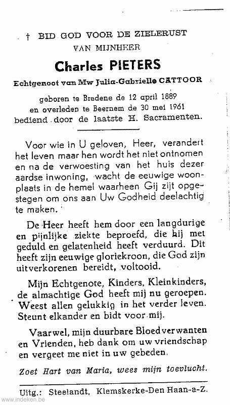 Carolus Josephus Pieters