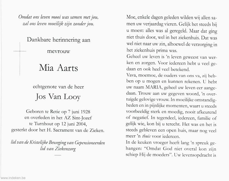 Maria Theresia Columbana Aarts