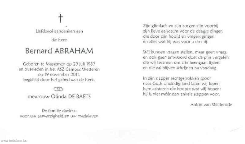 Bernard Abraham