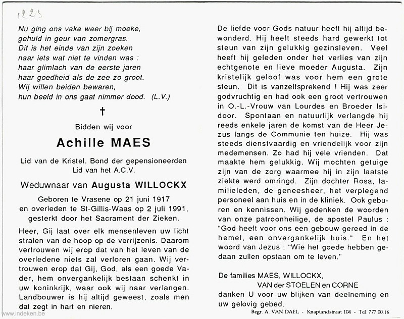 Achille Maes