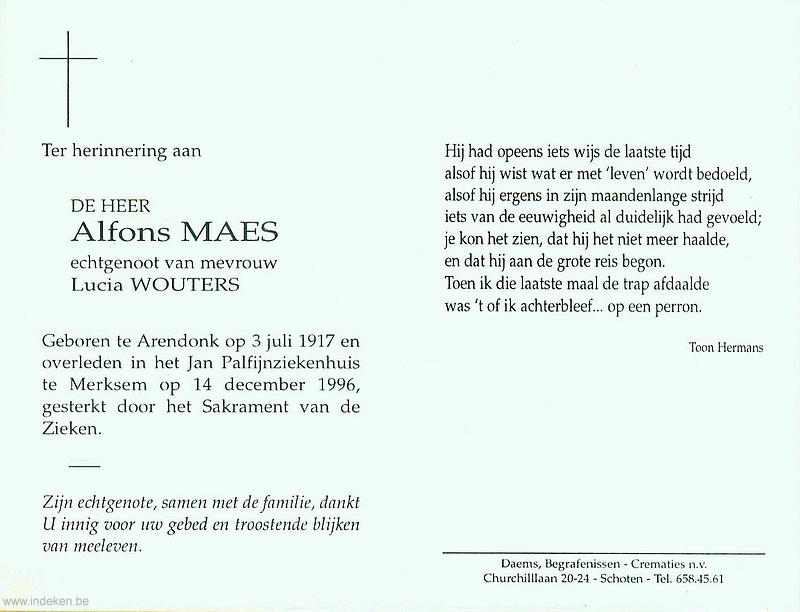 Alfons Maes
