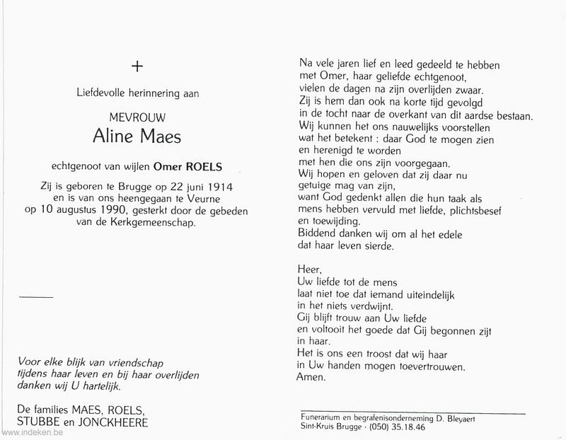 Aline Maes