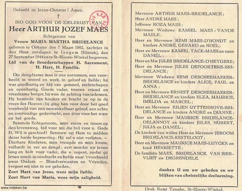 Arthur Jozef Maes