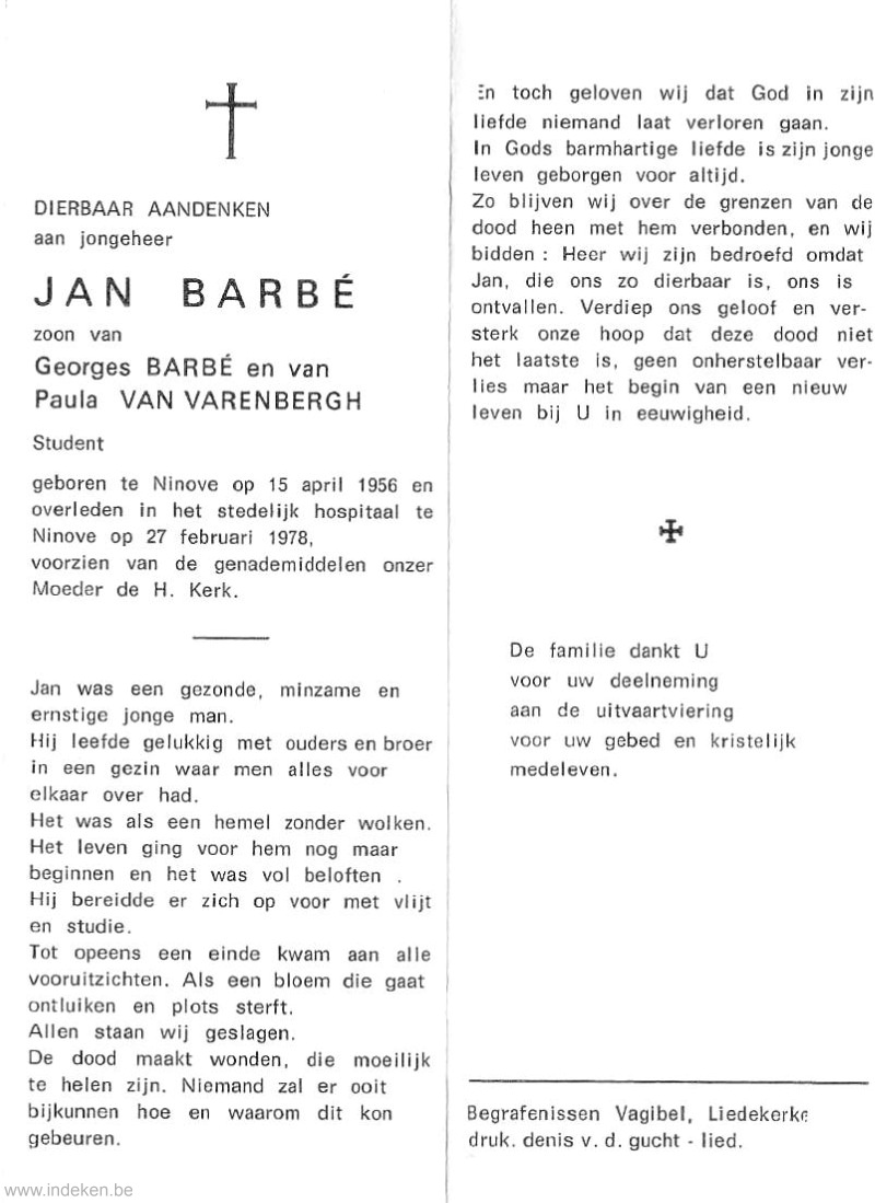 Jan Barbé