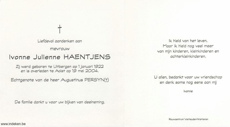 Ivonne Julienne Haentjens