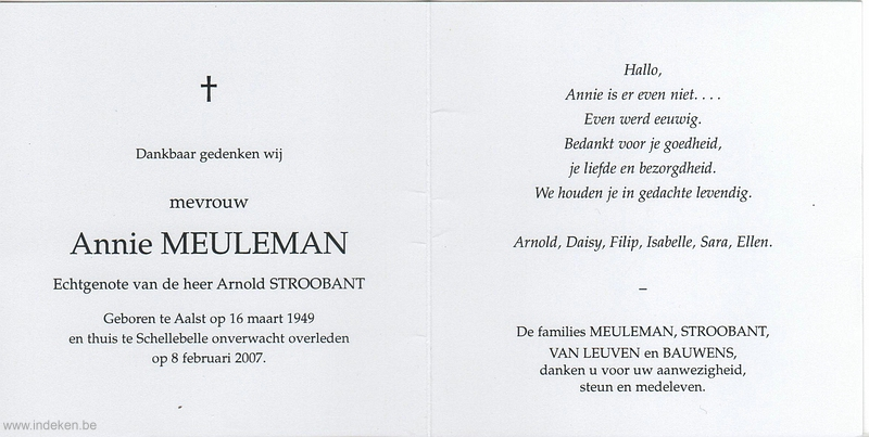 Annie Meuleman